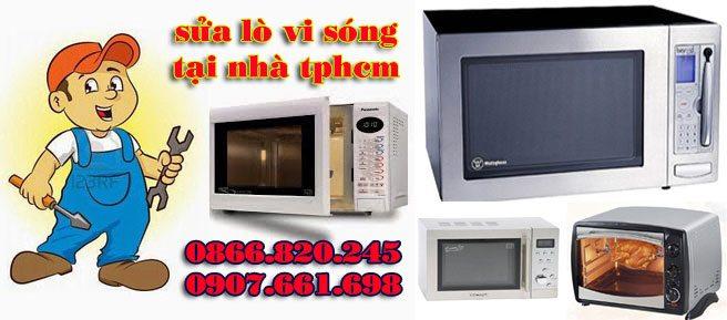 sửa lò vi sóng viba tại nhà giá rẻ tphcm
