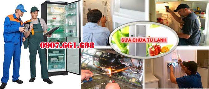 sửa tủ lạnh tại nhà giá rẻ nhất tphcm